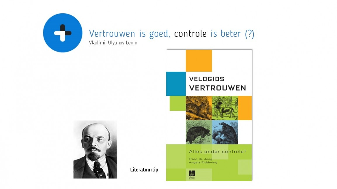 Blog 29-10-15 Vertrouwen is goed controle is beter tbv website
